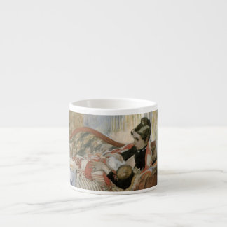 A Mother's Thoughts of Nursing Baby Espresso Cup