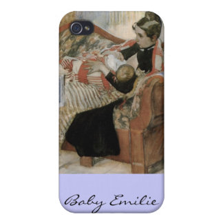 A Mother's Thoughts of Nursing Baby iPhone 4/4S Case