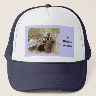 A Mother's Thoughts of Nursing Trucker Hat