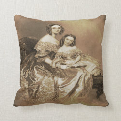 A Mother's Treasure Throw Pillow