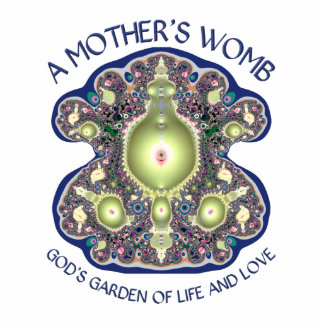 A Mother's Womb: God's Garden of Life and Love Statuette