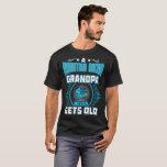 A Mountain Biking Grandpa Never Gets Old Gift Tshi T-Shirt