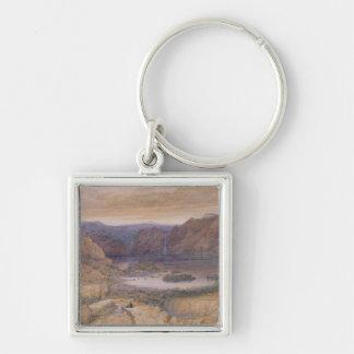 A Mountain Lake, Norway, c.1827 Keychain