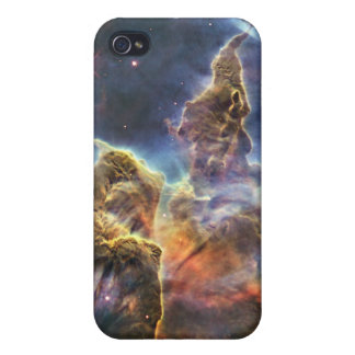 A mountain of dust and gas in the Carina Nebula iPhone 4 Covers