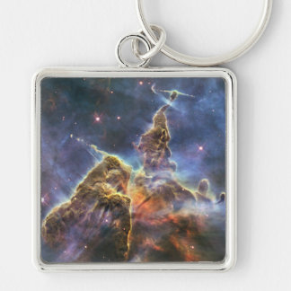 A mountain of dust and gas in the Carina Nebula Keychain