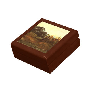 A Mountainous Landscape by Gustave Dore Gift Box