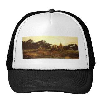 A Mountainous Landscape by Gustave Dore Trucker Hat