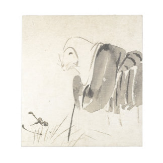 A Mouse as a Monk by Shibata Zeshin Notepad