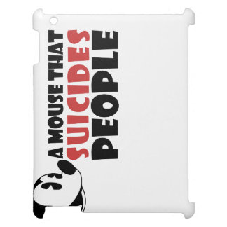 A Mouse that Suicides People iPad Case