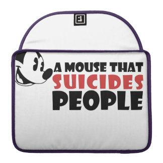 A Mouse that Suicides People MacBook Pro Sleeve