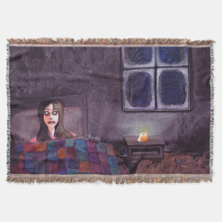 A Movement in the Corner of the Room! Throw Blanket
