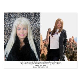 A Movie Actress Laurah Guillen Postcard