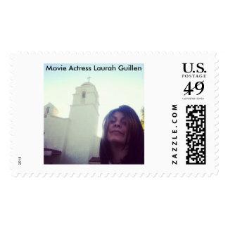A Movie Actress Laurah Guillen Stamp