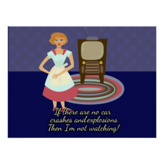 A Movie Loving Housewife Poster