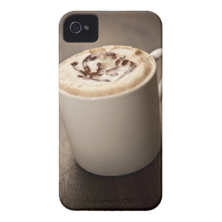 A mug of Cappuccino coffee topped with melted iPhone 4 Case-Mate Case