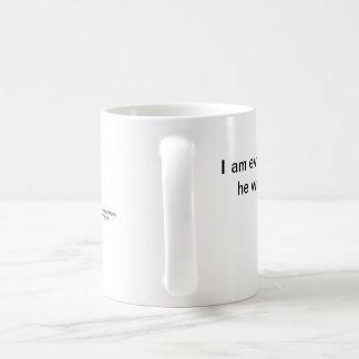 A mug with a Christian mediation