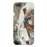 A Mujahadeen Guard walks with US Military membe Case For iPhone SE/5/5s