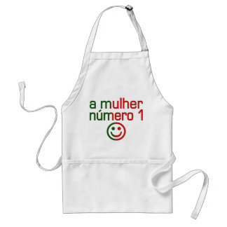 A Mulher Número 1 - Number 1 Wife in Portuguese Adult Apron