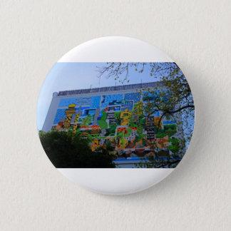 A Mural on the San Antonio Riverwalk Pinback Button