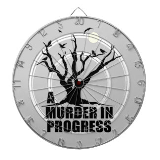 A Murder in Progress Dart Board