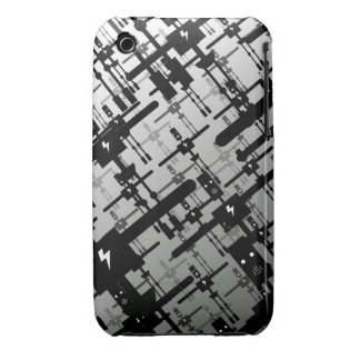 A Murder of Crow-Bots iPhone 3 Case
