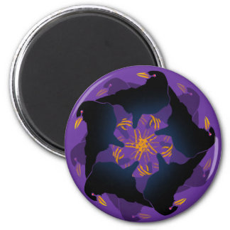 A MURDER OF CROWS 2 INCH ROUND MAGNET