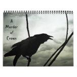 A Murder of Crows Calendar