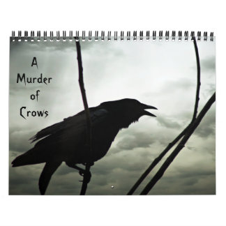 A Murder of Crows Calendar