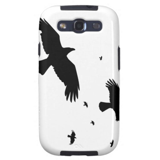 A Murder of Crows Galaxy S3 Covers