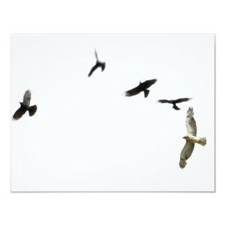 A Murder of Crows Custom Invitations