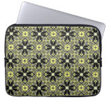 A Murder Of Crows Kaleidoscope Square Laptop Sleeves