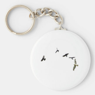 A Murder of Crows Keychain