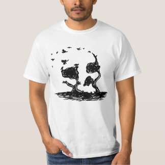 A murder of crows tee shirt