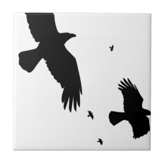 A Murder of Crows Tile