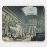 A Museum Gallery with Ancient Roman Art Mouse Pad