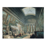A Museum Gallery with Ancient Roman Art Postcard
