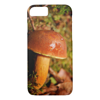 A Mushroom During Fall In The Forest iPhone 7 Case