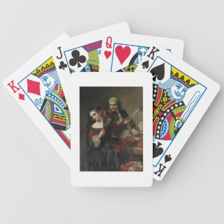 A Music Lesson, Seville Bicycle Playing Cards
