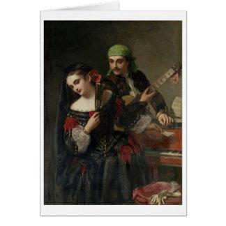 A Music Lesson, Seville Card