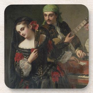 A Music Lesson, Seville Drink Coaster