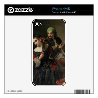 A Music Lesson, Seville iPhone 4 Skin