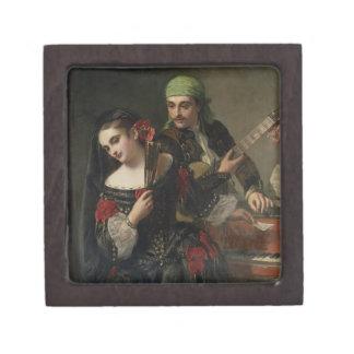 A Music Lesson, Seville Keepsake Box