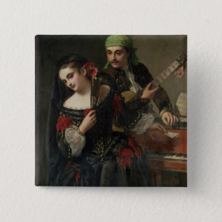 A Music Lesson, Seville Pinback Button