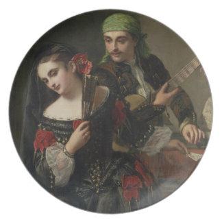 A Music Lesson, Seville Plate