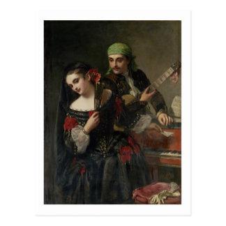 A Music Lesson, Seville Postcard