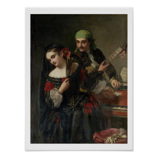 A Music Lesson, Seville Poster