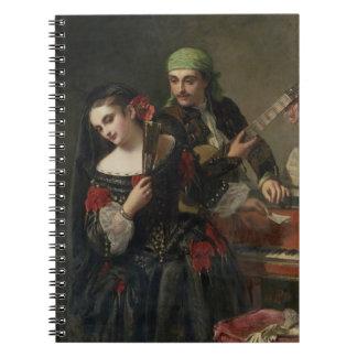 A Music Lesson, Seville Spiral Notebook