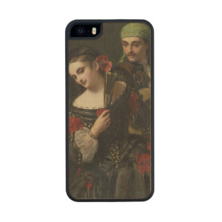 A Music Lesson, Seville Wood Phone Case For iPhone SE/5/5s