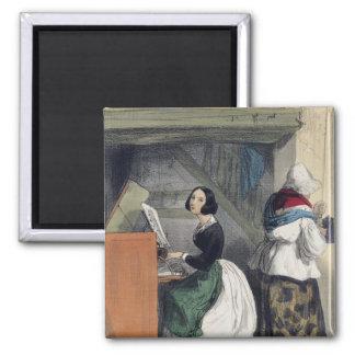 A Music School Pupil, from 'Les Femmes de Magnet
