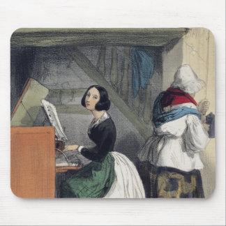A Music School Pupil, from 'Les Femmes de Mouse Pad